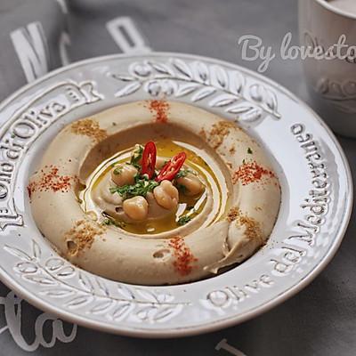 中东美食hummus--霍姆斯酱