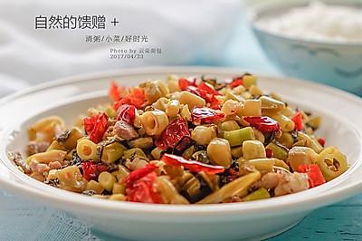 酸菜小竹笋