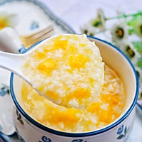 #秋天怎么吃#大米南瓜粥的做法图解10
