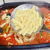 #肉食者联盟#培根芝士番茄意面的做法图解5