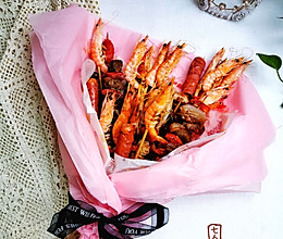 秘制烤串花束、不一样的礼物的做法