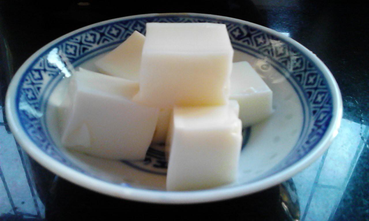 椰香鲜奶冻