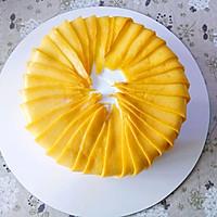 唯美芒果蛋糕#520,美食撩动TA的心!#的做法图解17