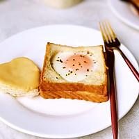 水波蛋爱心吐司片的做法图解8