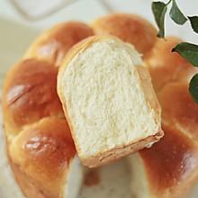 #秋天怎么吃#轻松出手套膜,松软香甜的牛奶面包一学就会