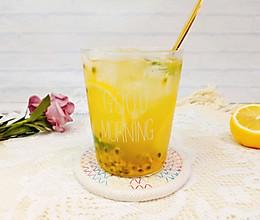 夏日冰饮,自制百香果金桔柠檬茶,清凉好喝!的做法