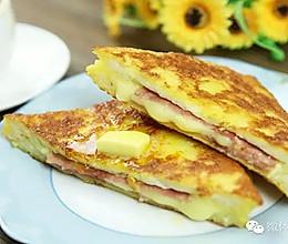 【微体】港式小食西多士,用吐司做的豪华早餐的做法