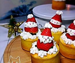 圣诞老人小蛋糕的做法