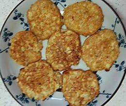 虾茸鸡蛋米饼(宝宝食谱)的做法