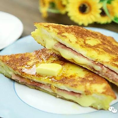 【微体】港式小食西多士,用吐司做的豪华早餐