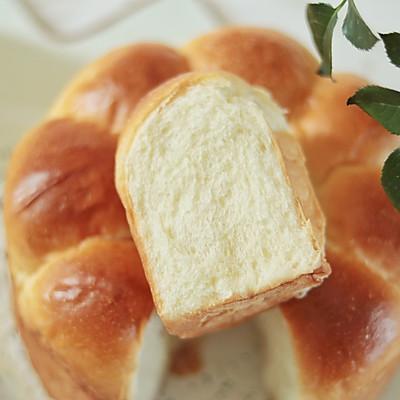 轻松出手套膜,松软香甜的牛奶面包一学就会