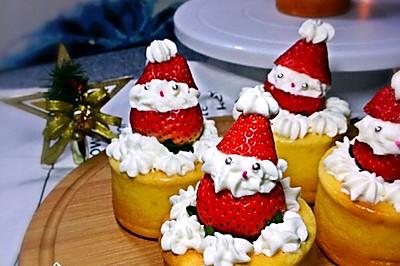 圣誕老人小蛋糕