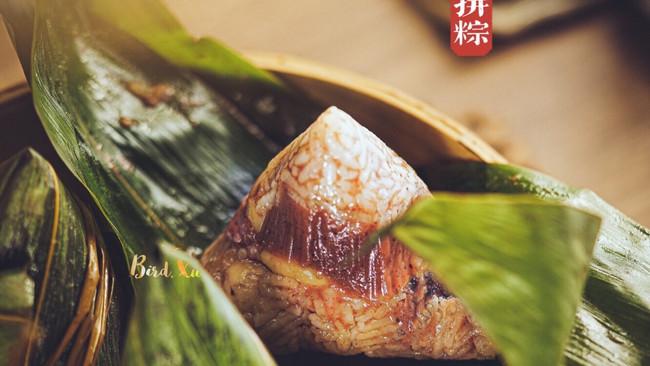 解决南北甜咸之战的【潮汕甜咸双拼粽子】的做法