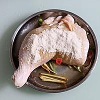 盐焗鸡粉蒸鸡腿的做法图解2