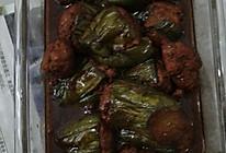 肉末塞茄子的做法