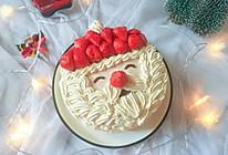 草莓圣诞老人蛋糕,简简单单真好看的做法
