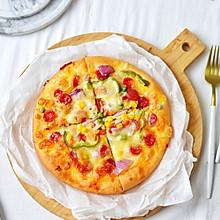 腊肉蔬菜披萨