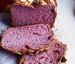 面包机 紫薯面包的做法
