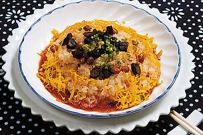 红油脆哨糯米饭