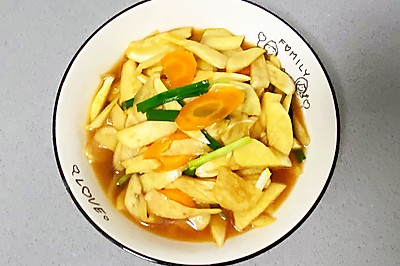 【孕妇食谱】蚝油茭白,色香味俱全,素菜也能当肉吃~