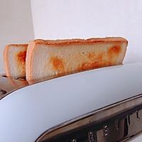 火腿芝士蛋三明治#百吉福食尚达人#的做法图解5