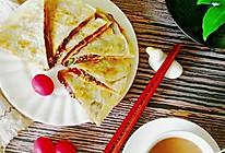 """#""""佳""""节好滋味#不用揉面的酱香饼的做法"""