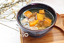 南瓜牛肉汤#松下饭煲年味#的做法