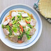 松阪豬和風沙拉