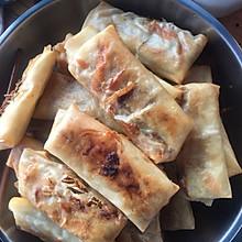 豆芽虾米春卷