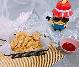 香酥杏鲍菇的做法