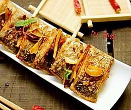 香辣干煎带鱼的做法