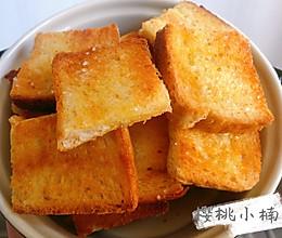 5s就学会的奶香面包片 无难度的做法