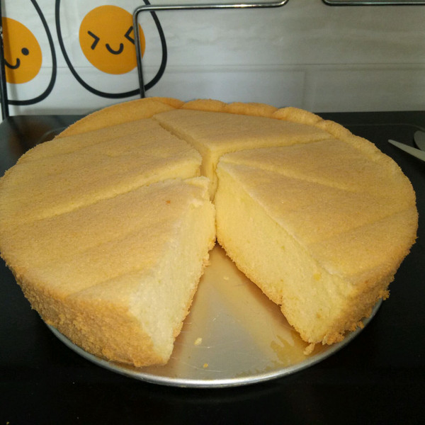 无牛奶戚风蛋糕(牛奶过敏宝宝也能吃)的做法
