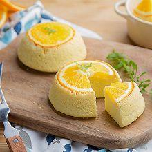 橙子碗蒸糕