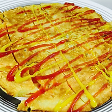 胡萝卜鸡蛋早餐饼