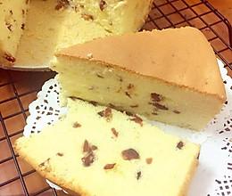 初恋的味道蔓越莓戚风蛋糕8寸的做法