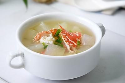 冬瓜花蟹汤