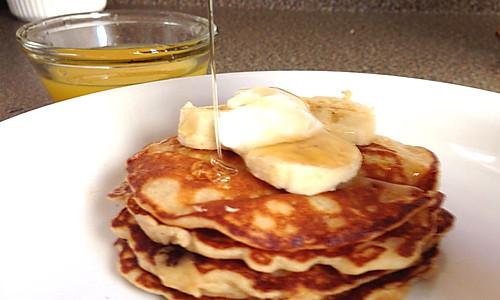 美式经典早餐——热松饼 buttermilk pancake的做法