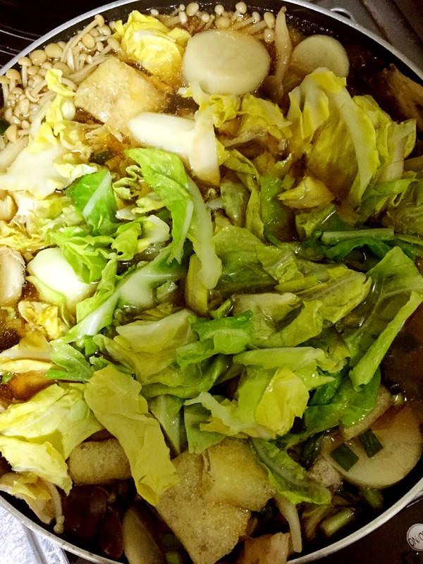 菌菇锅的做法