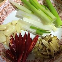 姜葱炒兰花蟹的做法图解2