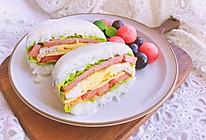 米饭三明治—健康美味颜值高的做法