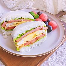 米饭三明治—健康美味颜值高