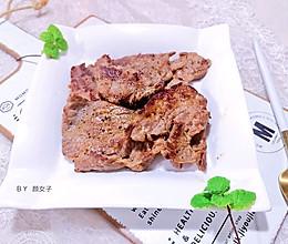 #肉食者联盟#香煎牛肉片#麦子厨房美食锅#的做法