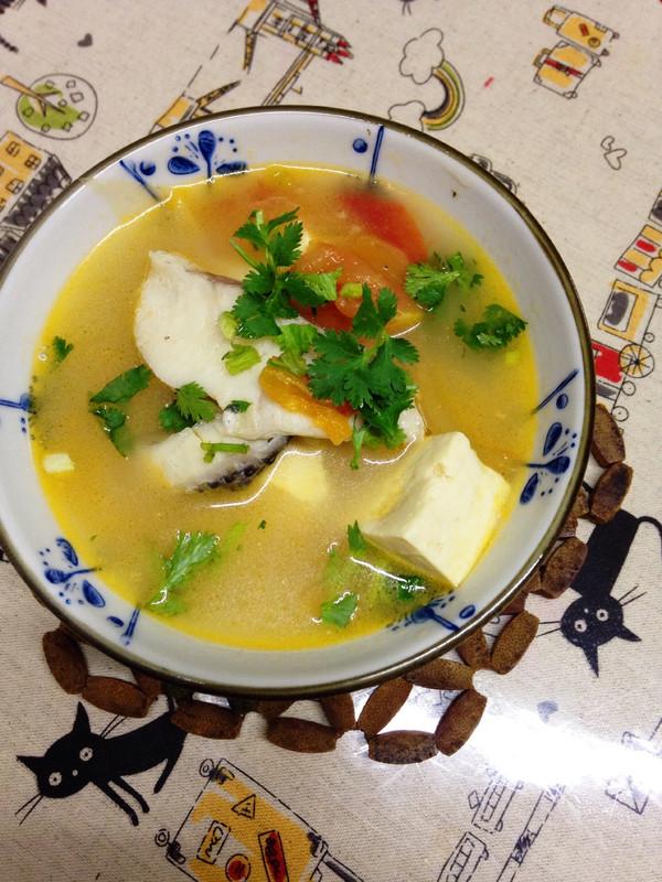 番茄豆腐鱼汤