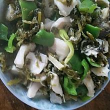 雪菜黑鱼片