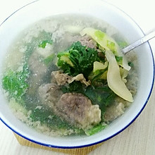 酸菜肥牛汤
