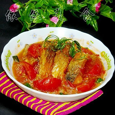 营养开胃番茄鱼块