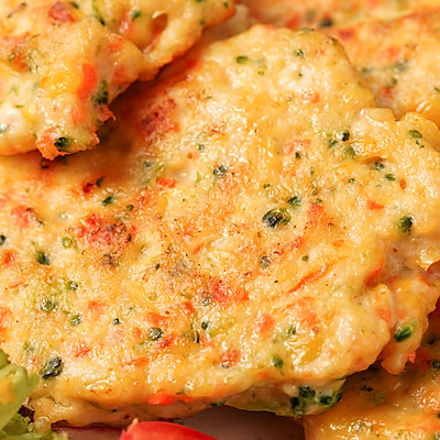 日食记 | 蔬菜鸡肉饼