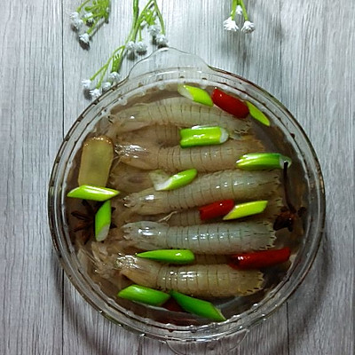 咸卤皮皮虾(家常)