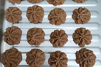 黄油&巧克力曲奇饼干